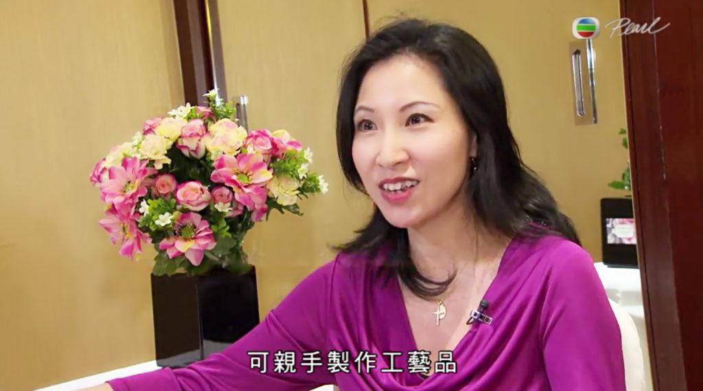 TVB Pearl Interview – DIY Flower Arrangement for Christmas